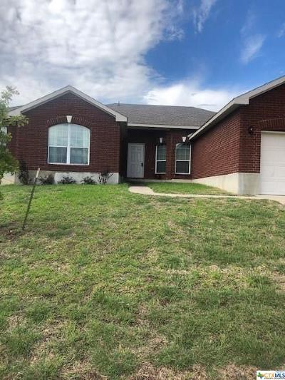 Killeen TX Single Family Home For Sale: $189,000