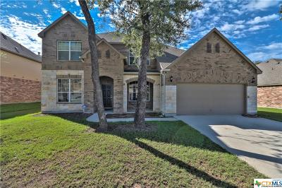 Killeen TX Single Family Home For Sale: $312,500