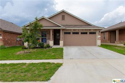 Killeen Single Family Home For Sale: 9701 Adeel Drive