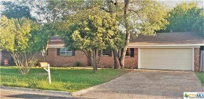 Belton TX Single Family Home For Sale: $127,500