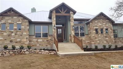 New Braunfels Single Family Home For Sale: 559 Winding View