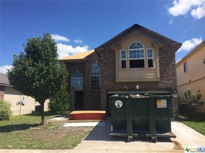 Killeen Single Family Home For Sale: 5112 Lions Gate