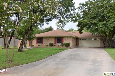 Harker Heights Single Family Home For Sale: 702 Cedar Oaks Lane