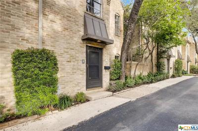 San Antonio Condo/Townhouse For Sale: 5411 N New Braunfels #8