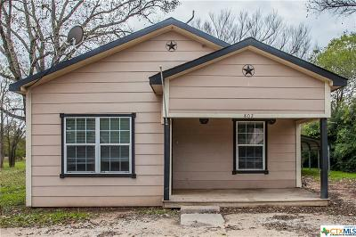 Gatesville Single Family Home For Sale: 802 Golf Course Road