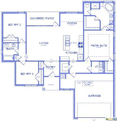 Nolanville TX Single Family Home For Sale: $168,900