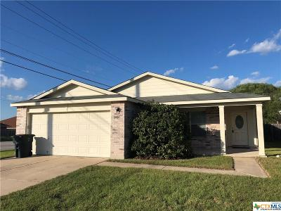 Killeen Single Family Home For Sale: 5600 Bertha