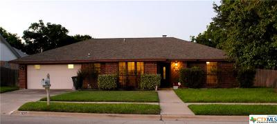 Killeen TX Single Family Home For Sale: $169,000