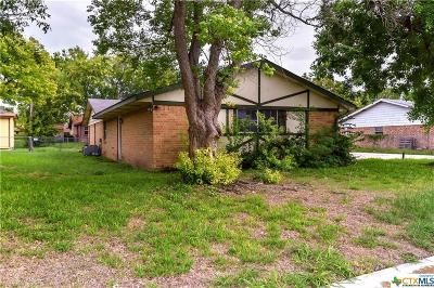 Killeen Single Family Home For Sale: 1910 Hooper Street