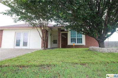 Killeen Single Family Home For Sale: 3014 Boydstun Loop