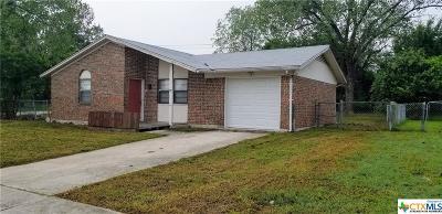 Killeen Single Family Home For Sale: 1600 Leader