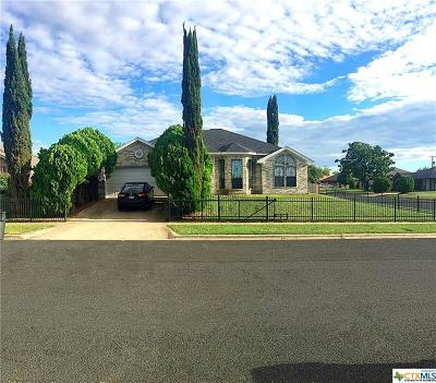 Killeen TX Single Family Home For Sale: $124,500