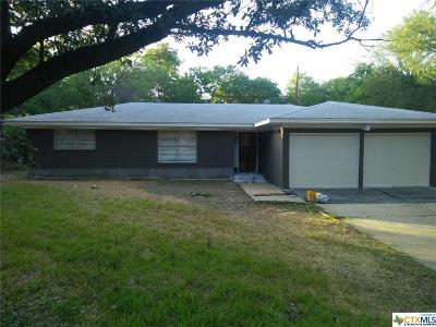 Belton TX Single Family Home For Sale: $159,000
