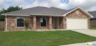 Killeen TX Single Family Home For Sale: $157,500