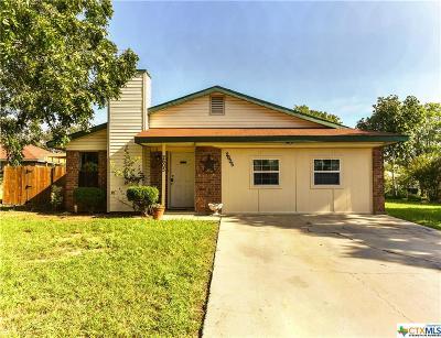Killeen Single Family Home For Sale: 2605 Lu Circle