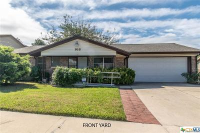 Copperas Cove Single Family Home For Sale: 918 Randa Street