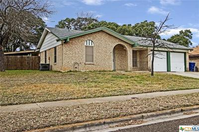 Copperas Cove Single Family Home For Sale: 1914 Pleasant Lane