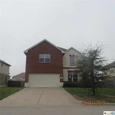 Harker Heights Single Family Home For Sale: 829 Kachina Loop