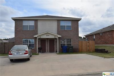Copperas Cove Multi Family Home For Sale: 214 Janelle Drive #A-B