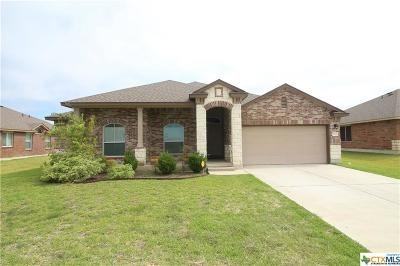 Killeen Single Family Home For Sale: 9308 Zayden