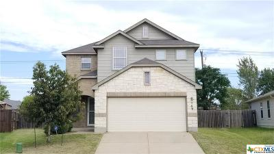 Killeen Single Family Home For Sale: 509 Draco Street
