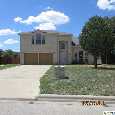 Harker Heights Single Family Home For Sale: 220 W Iowa Drive