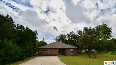 Belton TX Single Family Home For Sale: $135,000