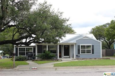 Lampasas Single Family Home For Sale: 501 S Spring St