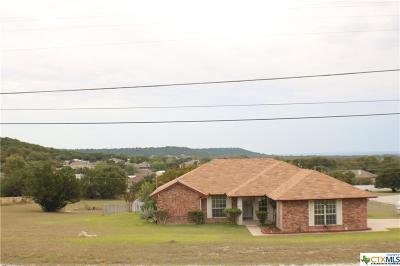 Copperas Cove Single Family Home For Sale: 3081 Colorado Drive