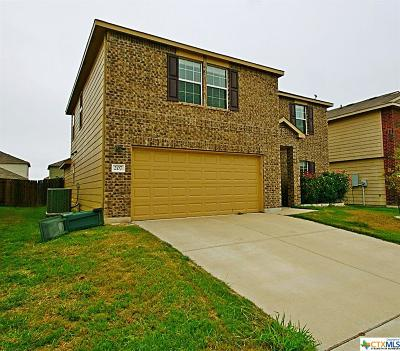 Killeen Single Family Home For Sale: 207 W Gemini