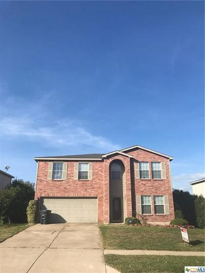 Killeen Single Family Home For Sale: 3405 Catalina