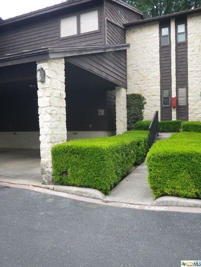 New Braunfels Condo/Townhouse For Sale: 371 W Lincoln #B205