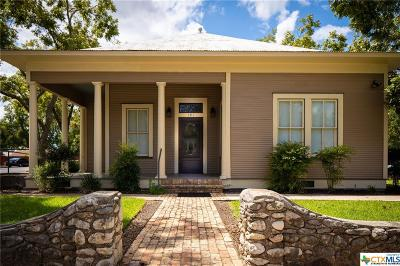 New Braunfels Single Family Home For Sale: 191 N Union Ave