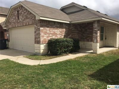 Killeen Single Family Home For Sale: 810 Draco Drive