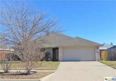 Killeen Single Family Home For Sale: 4508 Blueduck Drive