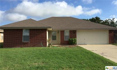 Killeen Single Family Home For Sale: 1905 Moonstone Drive