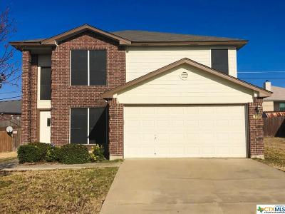 Killeen Single Family Home For Sale: 4405 Twin Oaks Circle