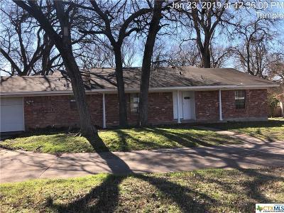 Temple Single Family Home For Sale: 3605 W Adams Avenue