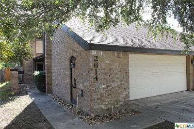 Killeen Single Family Home For Sale: 2614 Tortuga Lane