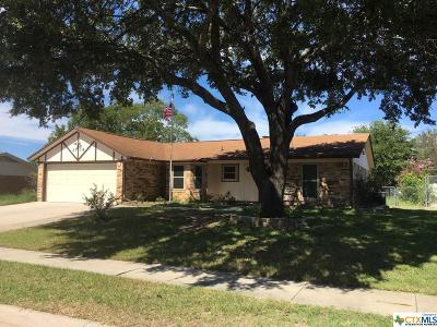 Copperas Cove Single Family Home For Sale: 2718 Phyllis Drive