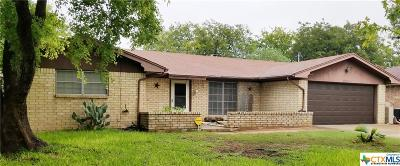 Temple Single Family Home For Sale: 2714 Bunker Hill Drive