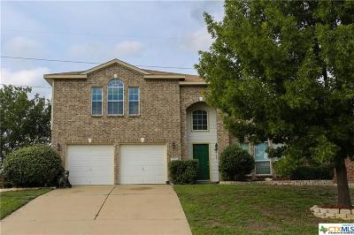 Harker Heights Single Family Home For Sale: 701 Black Hills Trail