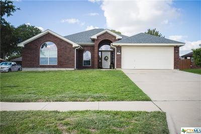 Killeen Single Family Home For Sale: 5611 Graphite Drive