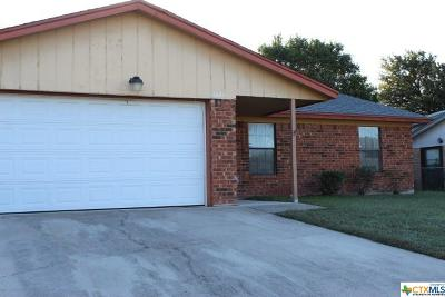 Copperas Cove Single Family Home For Sale: 1422 Janet Lane