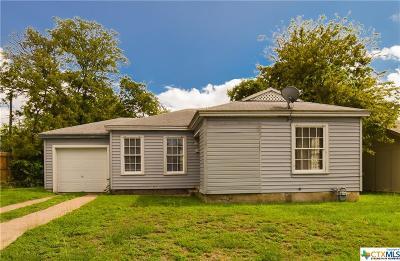 Killeen Single Family Home For Sale: 808 Carter Street