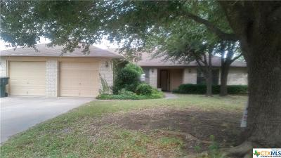 Killeen Single Family Home For Sale: 303 Spring Hollow