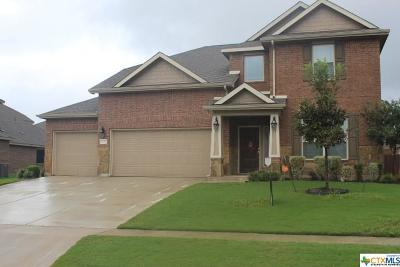 Killeen Single Family Home For Sale: 6207 Alabaster Drive
