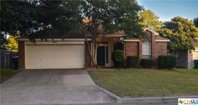 Temple Single Family Home For Sale: 4617 Stratford