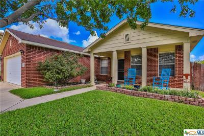 Harker Heights Single Family Home For Sale: 3014 Rain Dance