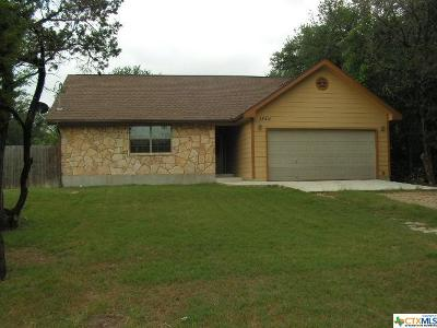 Canyon Lake Single Family Home For Sale: 1542 Canyon Bend